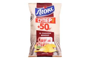 Чипсы картофельные Бекон Люкс м/у 183г