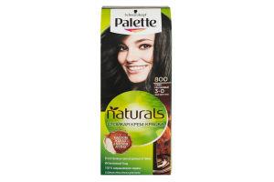 Крем-фарба для волосся Фітолінія Темно-каштановий №800 Palette