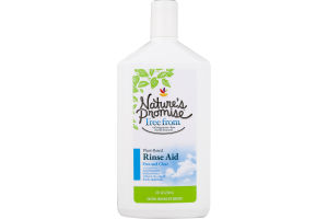 Nature's Promise Rinse Aid Free and Clear
