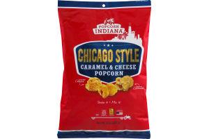 Popcorn, Indiana Chicago Style Caramel & Cheese Popcorn
