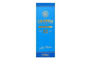 Віскі 0.7л 40% шотландське односолодове 12 YO Crabbie пл
