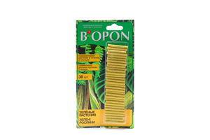 Добриво Biopon в паличках д/зелених рослин 30шт
