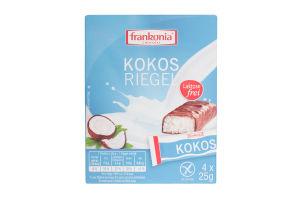 Батончики з кокосовою начинкою Frankonia к/у 100г