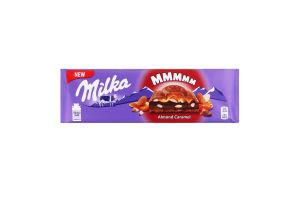 Шоколад молочний Almond Caramel Milka м/у 300г