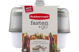 Rubbermaid Fasten + Go Sandwich Kit