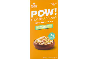 Pow! Mac And Cheese Power Protein Pasta White Cheddar Shells