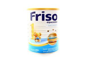 Смесь сухая молочная Фрисолак 1 0-6 мес Friso 900г