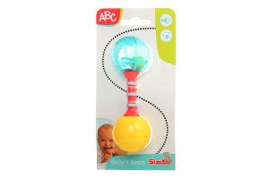 Погремушка для детей от 3мес Baby's Bests ABC Simba 1шт
