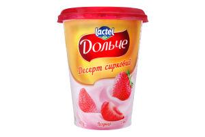 Десерт 3.4% творожный Клубника Дольче ст 400г