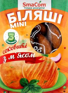 Беляши с мясом замороженные Mini SmaСom к/у 400г