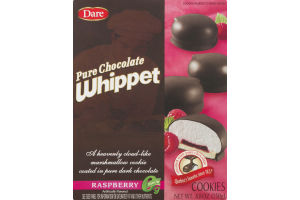 Dare Pure Chocolate Whippet Cookies Raspberry