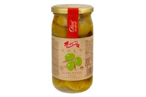 Оливки зеленые без косточки Diva Oliva 370мл
