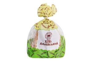 Хлеб половинка в нарезке Альпийский Прилуцький хлібозавод м/у 0.32кг