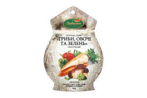 Смесь Грибы овощи и зелень Любисток 40г