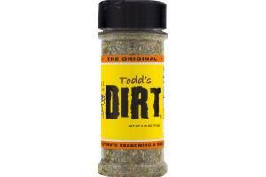 Todd's Dirt The Original The Ultimate Seasoning & BBQ Rub