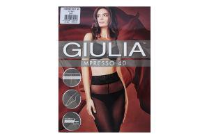 Колготки жіночі Giulia Impresso 40den 2-S nero
