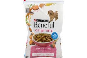 Purina Beneful Originals Dog Food with Salmon - 15.5 LB