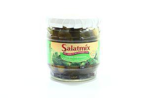 Огірки Salatmix корнішони з листям смородини маринов 360г х6