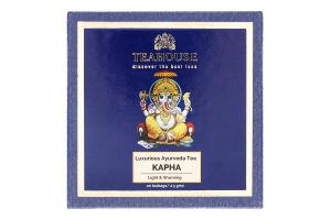 Чай чорний індійський гранульований Капха Teahouse к/у 20х2.5г