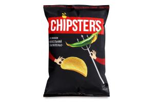Чипсы картофельные Адский халапеньо Chipster's м/у 130г
