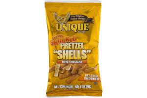 "Unique Flavor Shocked Pretzel ""Shells"" Honey Mustard"