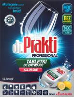 Таблетки для посудомоечных машин Лимон Dr. Prakti 35шт