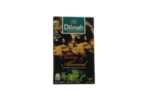Чай черный Dilmah Вишня и миндаль