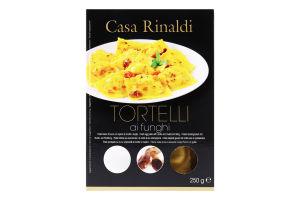 Паста яичная свежая с начинкой из сыра Рикотта и грибов Tortelli Casa Rinaldi к/у 250г