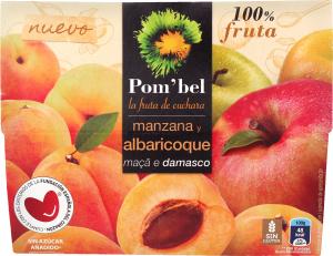 Пюре из яблок и абрикосов