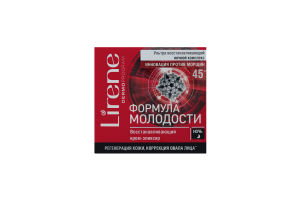 LIRENE Формула молодості 45+ крем-еліксир нічний відновлюючий 50мл