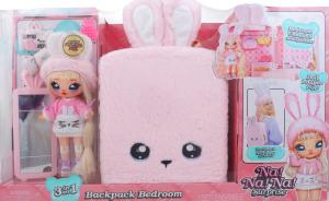 Набір ігровий для дітей від 3років з лялькою 3в1 №569732 Backpack Bedroom Na! Na! Na! Surprise 1шт
