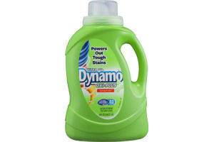 Dynamo Ultra with Oxi-Plus Laundry Detergent Sunrise Fresh - 32 Loads