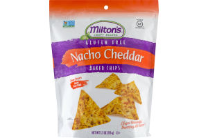 Milton's Craft Bakers Gluten Free Nacho Cheddar Baked Chips