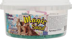 Набір для творчості м'ятного кольору що світиться у темряві для дітей від 3років №370-8 Magic Sand Strateg 1шт