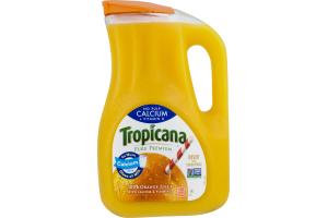 Tropicana 100% Orange Juice Calcium + Vitamin D No Pulp