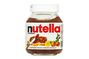 Паста ореховая с какао Nutella с/б 180г