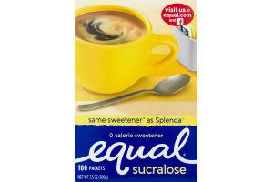 Equal Sucralose 0 Calorie Sweetener