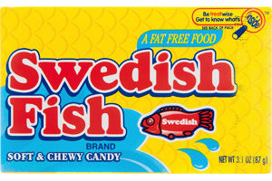 Swedish Fish Soft & Chewy Candy Fat Free