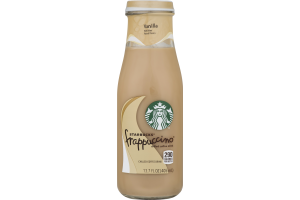Starbucks Frappuccino Chilled Coffee Drink Vanilla
