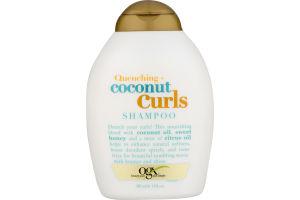 OGX Quenching + Coconut Curls Shampoo