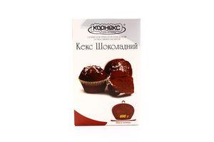 Смесь шоколадная для приготовления кексов Корнекс 400г