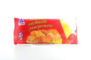 Тесто Рудь слоеное с/м 0,5кг