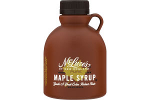McLure's of New England Pure Maple Syrup