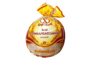 "Хліб ""Прикарпатський"" житн-пшен подов уп 0.65кг /Цар Хліб/"