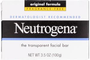 Neutrogena Transparent Facial Bar Fragrance-Free