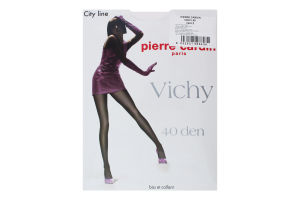 Колготи жіночі Pierre Сardin Vichy 40den 2 nero