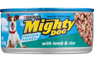 Purina Mighty Dog with Lamb & Rice Dog Food