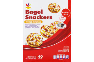 Ahold Bagel Snackers Three Cheese - 40 CT