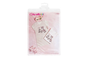 Пижама для девочки Donella 4-5лет Z4