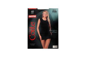 Колготки жіночі Conte Prestige 40den 2 nero